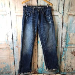 American Eagle Low Loose Jeans 31/32